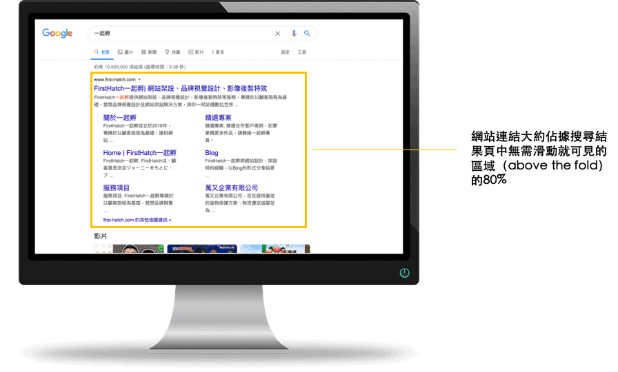 網站連結 sitelinks 6