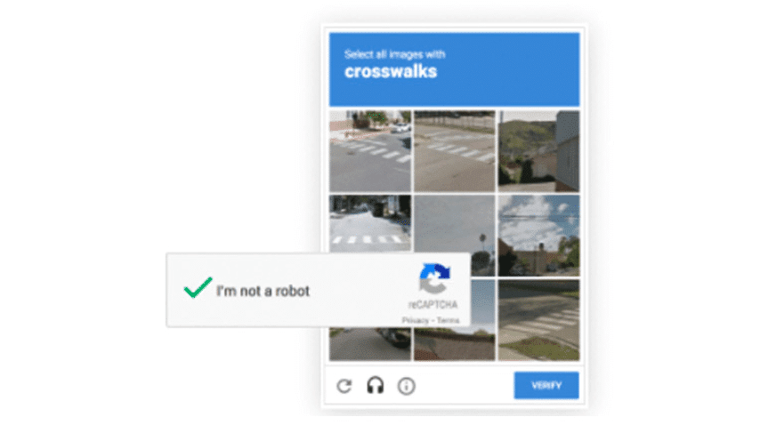 Google reCAPTCHA v2 我不是機器人